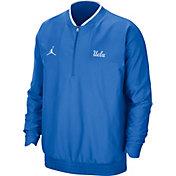 Jordan Men's UCLA Bruins True Blue Football Sideline Coach Lightweight Jacket