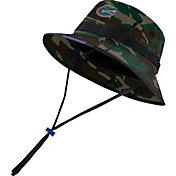 Jordan Men's Florida Gators Camo Dri-FIT Football Sideline Bucket Hat