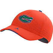 Jordan Men's Florida Gators Orange AeroBill Swoosh Flex Classic99 Football Sideline Hat