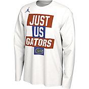 Jordan Men's Florida Gators 'Just Us' Bench Long Sleeve T-Shirt