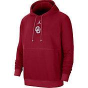 Jordan Men's Oklahoma Sooners Crimson Club Fleece Pullover Hoodie