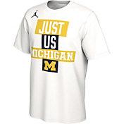 Jordan Men's Michigan Wolverines 'Just Us' Bench T-Shirt