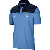 Jordan Men's North Carolina Tar Heels Carolina Blue Elevated Team Issue Polo