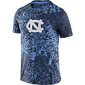Jordan Men's North Carolina Tar Heels Carolina Blue Football Team Issue Practice T-Shirt