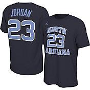 Jordan Men's Michael Jordan North Carolina Tar Heels #23 Navy Basketball Jersey T-Shirt