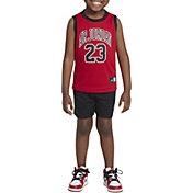 Jordan Little Boys' Mesh Basketball Jersey Tank Top and Shorts Set