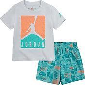 Jordan Little Boys' Air Elements T-Shirt and All Over Print Shorts Set