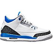 Jordan Kids' Grade School Air Jordan 3 Retro Basketball Shoes