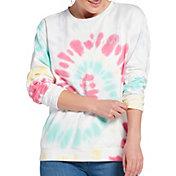 Ivory Ella Women's Heritage Solstice Swirl Tie Dye Oversized Sweatshirt