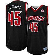 Original Retro Brand Men's Louisville Cardinals Donovan Mitchell #45 Black Replica Basketball Jersey