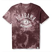 League-Legacy Men's Alabama Crimson Tide Crimson Tie Dye T-Shirt