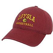 League-Legacy Men's Loyola Chicago Ramblers Maroon Basketball Adjustable Hat