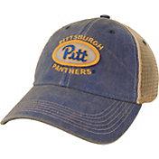 League-Legacy Men's Pitt Panthers Blue Old Favorite Trucker Adjustable Hat