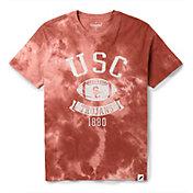 League-Legacy Men's USC Trojans Cardinal Tie Dye T-Shirt
