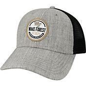 League-Legacy Men's Wake Forest Demon Deacons Grey Lo-Pro Adjustable Trucker Hat