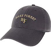 League-Legacy Men's Wake Forest Demon Deacons Grey EZA Adjustable Hat