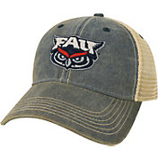 League-Legacy Florida Atlantic Owls Blue Old Favorite Adjustable Trucker Hat