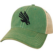 League-Legacy North Texas Mean Green Green Old Favorite Adjustable Trucker Hat