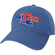 League-Legacy Youth Louisiana Tech Bulldogs Blue Relaxed Twill Adjustable Hat