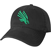 League-Legacy Youth North Texas Mean Green Relaxed Twill Adjustable Black Hat