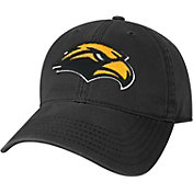League-Legacy Youth Southern Miss Golden Eagles Relaxed Twill Adjustable Black Hat