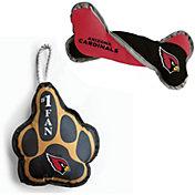 Little Earth Arizona Cardinals 2-Pack Pet Toy Set