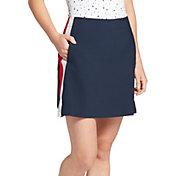 Lady Hagen Women's USA Side Stripe Woven 17'' Golf Skort