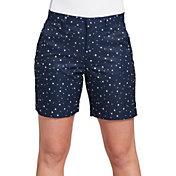 Lady Hagen Women's USA Mini Star 7'' Golf Shorts