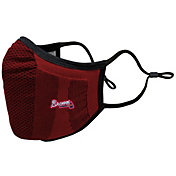Levelwear Adult Atlanta Braves Red Guard 3 Face Covering