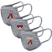 Levelwear Adult Arizona Diamondbacks Grey 3-Pack Face Coverings