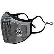 Levelwear Adult Colorado Rockies Grey Guard 3 Face Covering