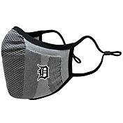 Levelwear Adult Detroit Tigers Grey Tonal Logo Guard 3 Face Covering