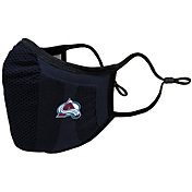 Levelwear Adult Colorado Avalanche Guard 3 Navy Face Mask