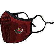 Levelwear Adult Minnesota Wild Guard 3 Red Face Mask