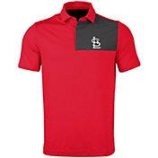 Levelwear Men's St. Louis Cardinals Red Nolan Insignia Core Polo