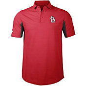 Levelwear Men's St. Louis Cardinals Red Rival Insignia Core Polo