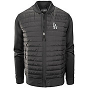 Levelwear Men's Los Angeles Dodgers Hatch Black Jacket