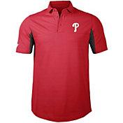 Levelwear Men's Philadelphia Phillies Red Rival Insignia Core Polo