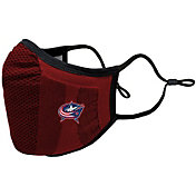 Levelwear Youth Columbus Blue Jackets Guard 3 Red Face Mask