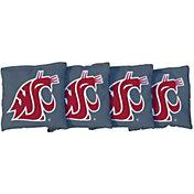 Victory Tailgate Washington State Cougars Grey Cornhole Bean Bags