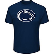 Majestic Men's Big and Tall Penn State Nittany Lions Blue T-Shirt