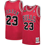 Mitchell & Ness Men's 1997 Chicago Bulls Michael Jordan #23 Red Hardwood Classics Authentic Jersey