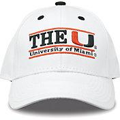 The Game Men's Miami Hurricanes White Nickname Adjustable Hat