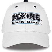 The Game Men's Maine Black Bears White Bar Adjustable Hat