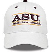 The Game Men's Arizona State Sun Devils White Bar Adjustable Hat