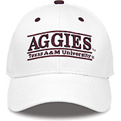 The Game Men's Texas A&M Aggies White Nickname Adjustable Hat