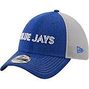 New Era Men's Toronto Blue Jays Blue 39Thirty Heathered Stretch Fit Hat