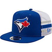 New Era Men's Toronto Blue Jays 9Fifty Blue Stripe Adjustable Hat