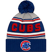 New Era Men's Chicago Cubs Blue Cheer Knit Hat