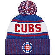 New Era Men's Chicago Cubs Blue Marl Knit Beanie